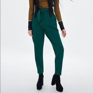 Zara Emerald Green Trousers
